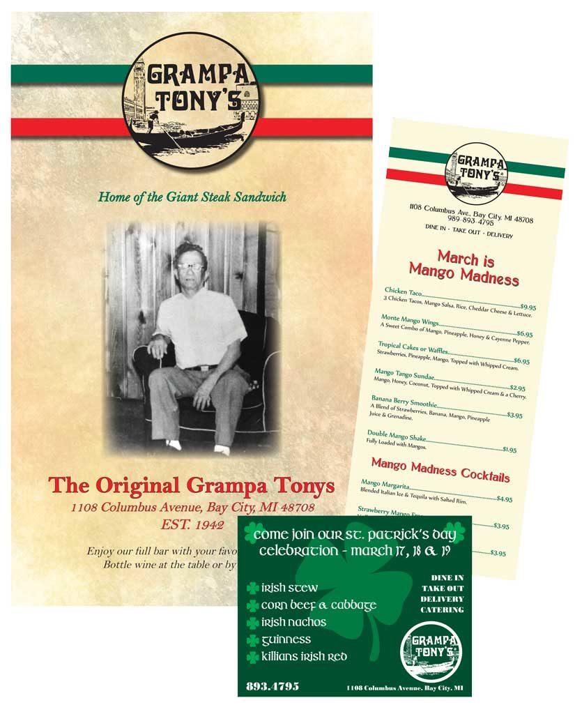Grampa Tony's Print