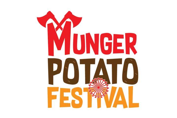 Munger Potato Festival Logo